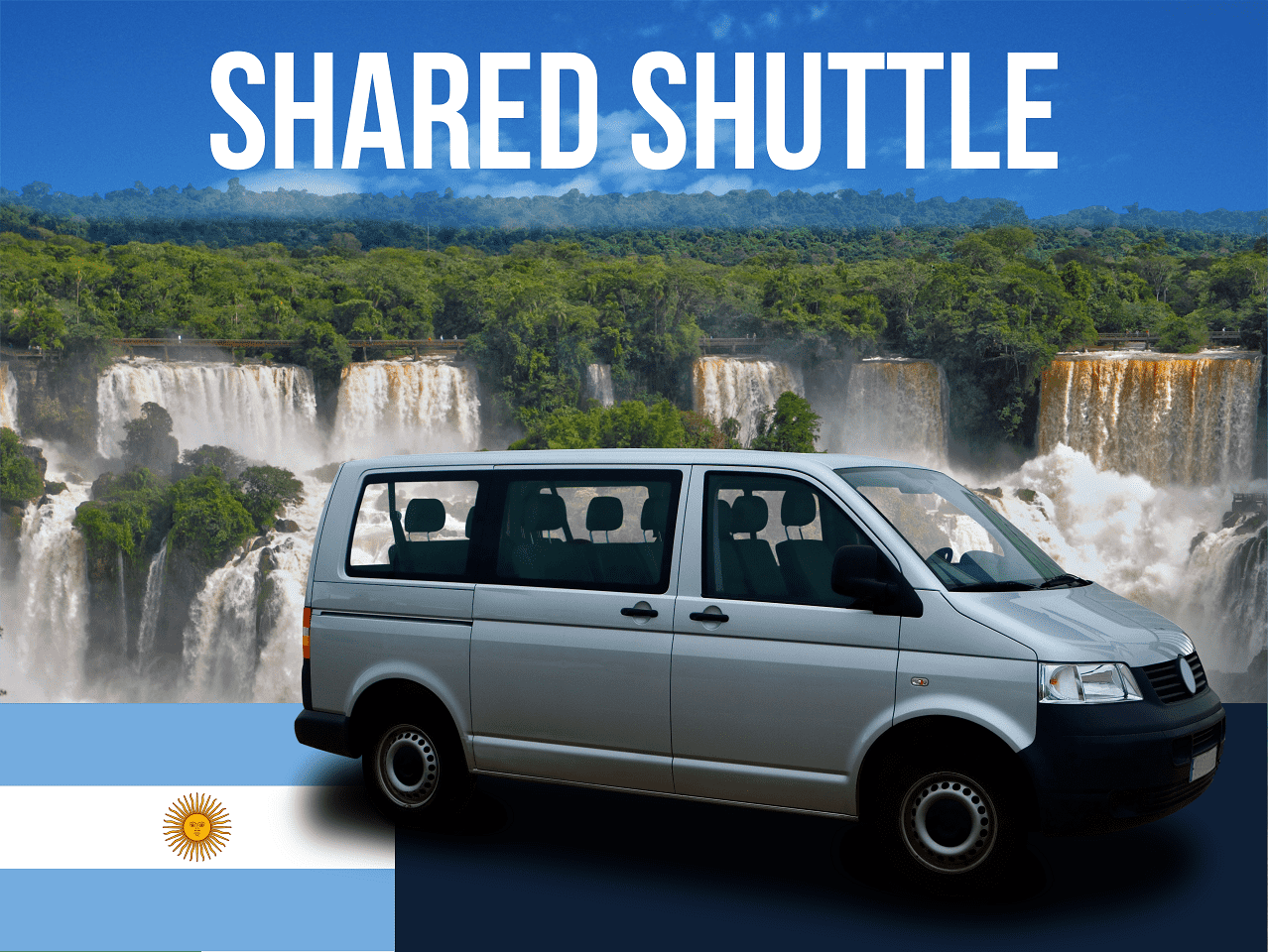 Shuttle from Foz do Iguacu to the Argentine side of the falls