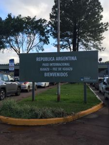 Argentina border crossing