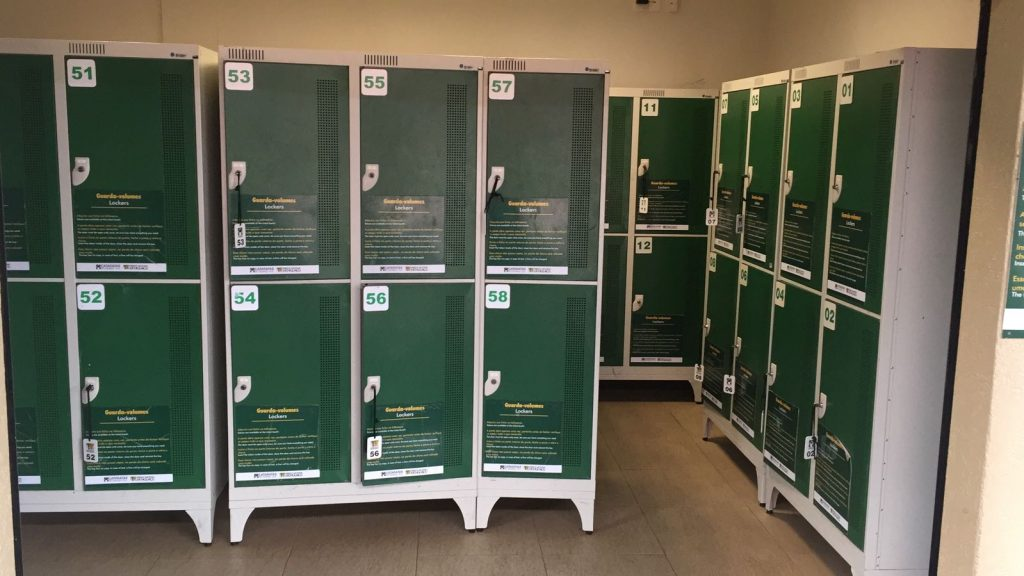 iguazufallstravel  luggage storage room lockers at the