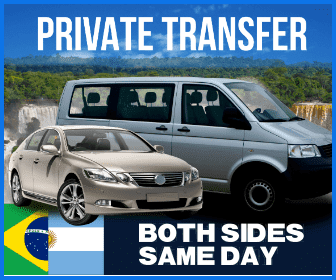 Both Sides Iguazu Falls Same Day Transfers