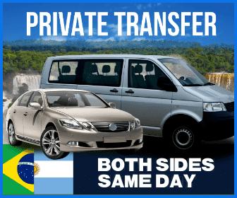 Both Sides Iguazu Falls Same Day Transfers