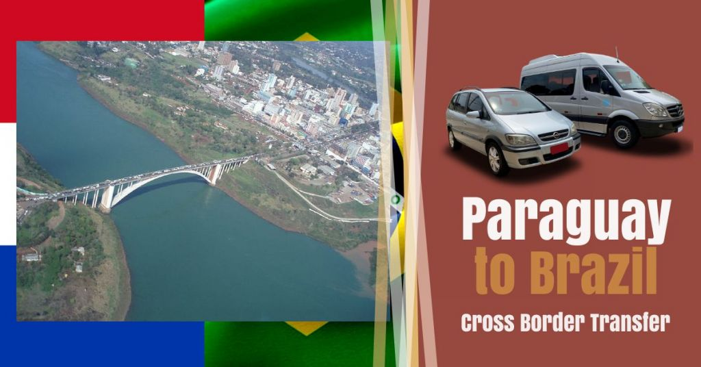 Paraguay to Brazil border crossing