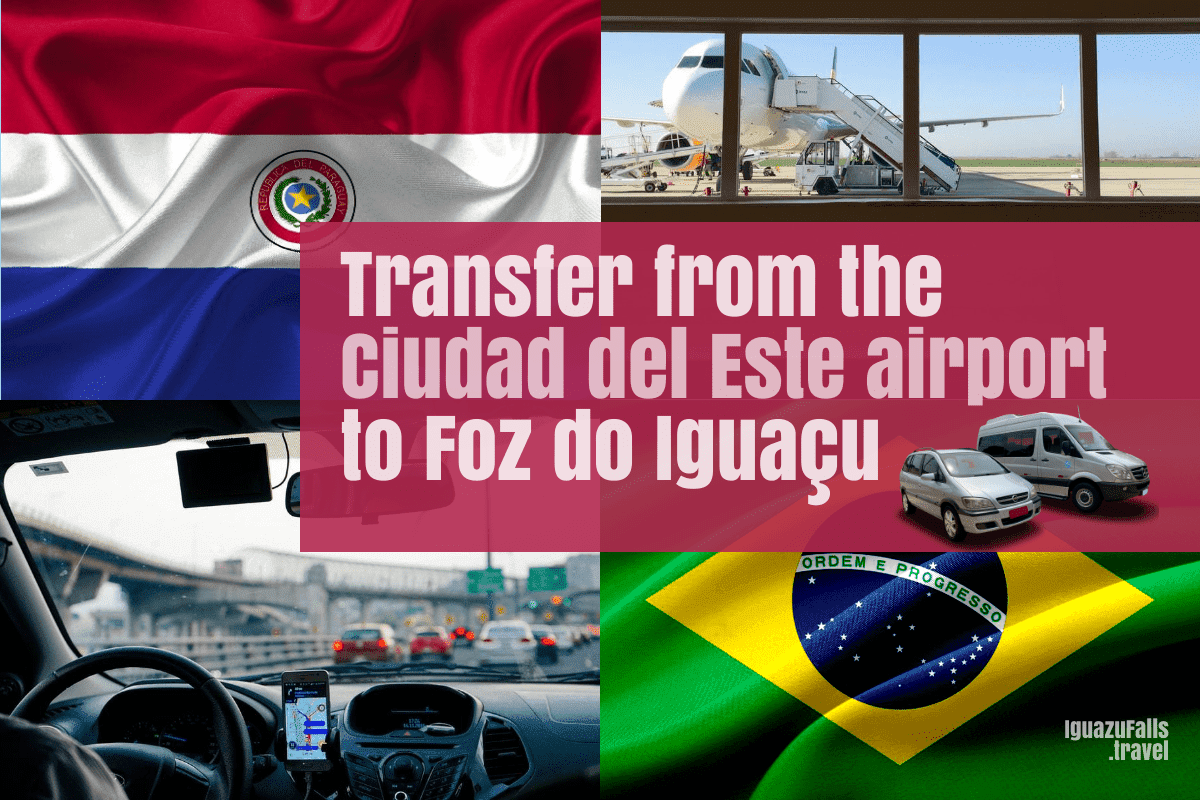 Transport from the Ciudad del Este AGT airport to Foz do Iguacu