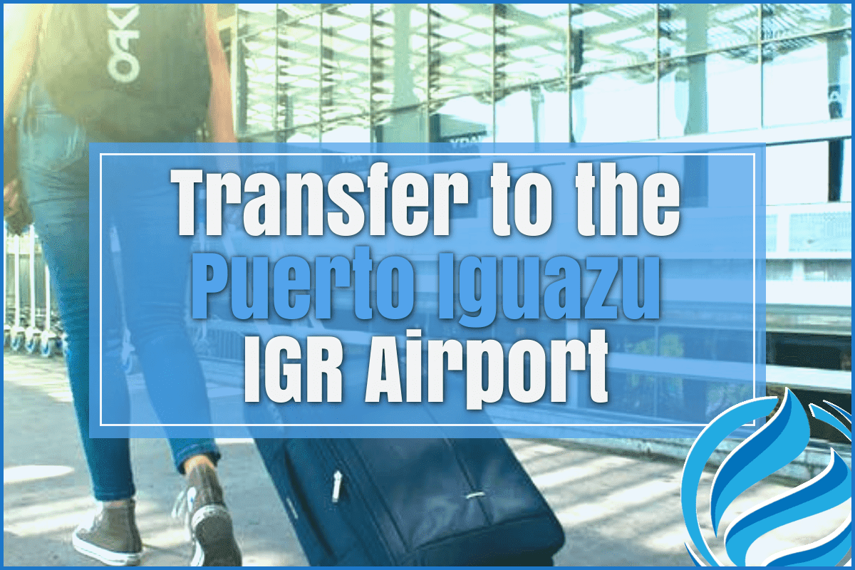 Transfer to the Puerto Iguazu IGR airport