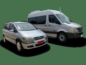 Transport vehicles Iguazu Falls