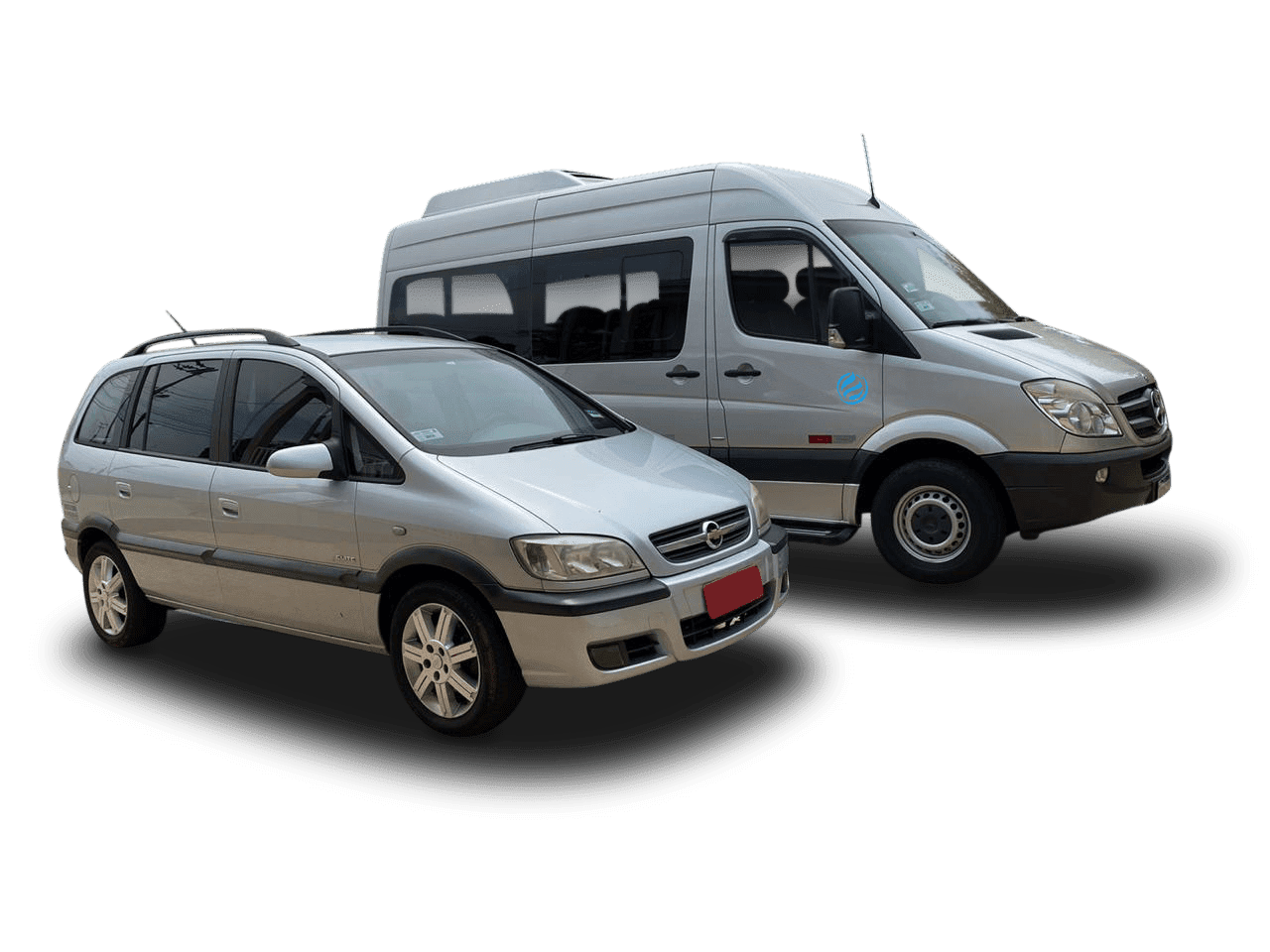Transfer cars and vans